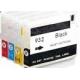 HP 932: 4 cartouches vides rechargeables avec puces