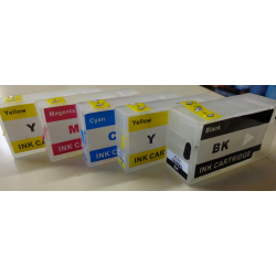 PGI1500XL: cartouches rechargeables