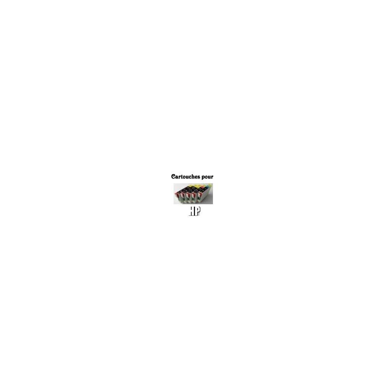 HP 302XL: cartouche compatible (couleur au choix)