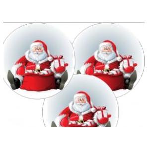 Pére Noël sur papier azyme (96 pièces)