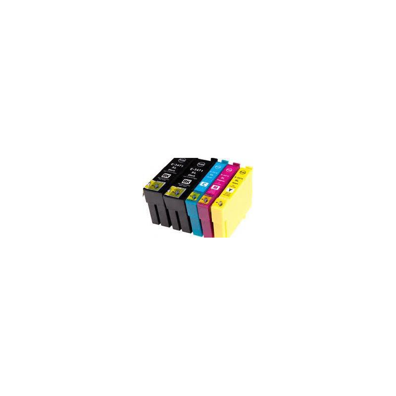 T3471 à 3474: 4 cartouches compatibles