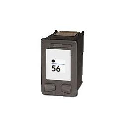 Cartouche compatible pour HP remplace Nr. 56 noir