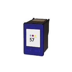 Cartouche compatible remplie pour HP Nr. 57 3 couleurs