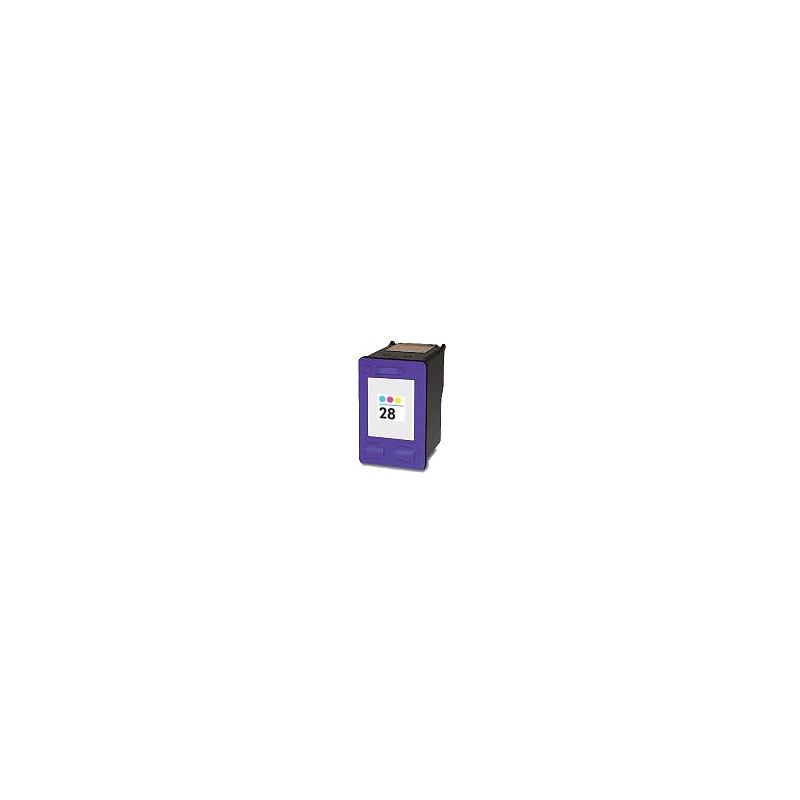 Cartouche compatible remplie HP Nr. 28 3 couleurs