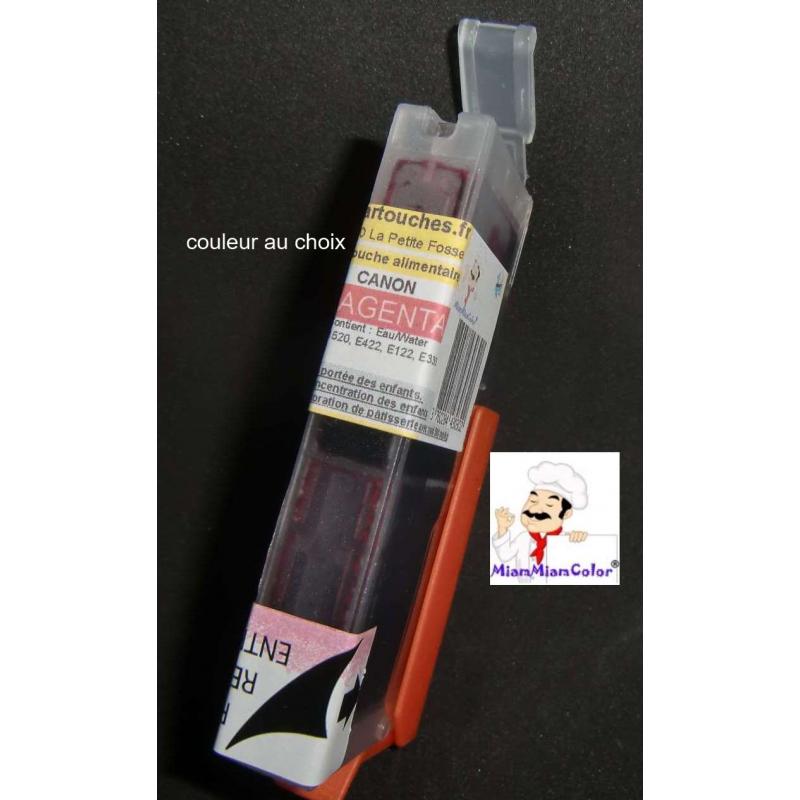 PGI550/551:1 cartouche alimentaires couleur au choixconditionné par FIBM France