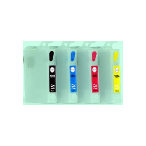 T18: 1 cartouche recharchargeable avec puce permanente