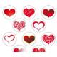 Petits cœurs en papier azyme