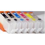 PGI580/CLI581XXL: 6 cartouches compatibles