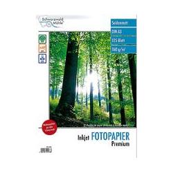 A3: 125 f. papier photo matt