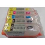 PGI525/526: Kit de 5 cartouches vides rechargeables SANS PUCE