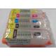 PGI570/CLI571: Kit de 5 cartouches vides rechargeables avec PUCEs autoreset