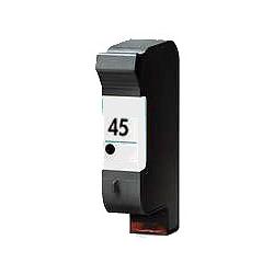 Cartouche compatible remplie pour HP Nr. 45 noire