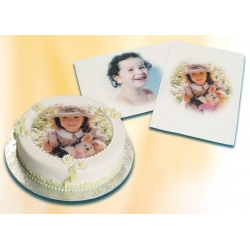 Papier comestible pour gâteaux,20 feuilles papier fondant A4