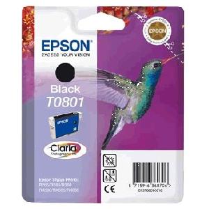 cartouche d'origine Epson Nr.TO801 noir