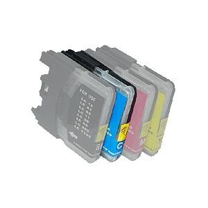 Cartouche compatible pour Brother Nr.LC1100, couleur