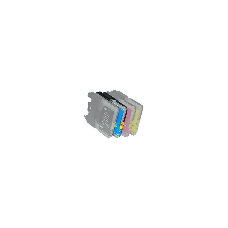 Cartouche compatible pour Brother Nr.LC1100bk, noir