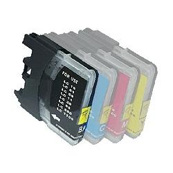 cartouche compatible pour Brother Nr. LC980BK noire