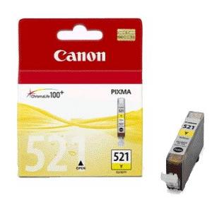 Cartouches d'origine Canon CLI 521