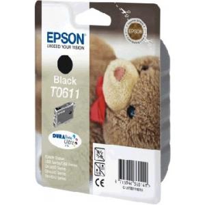 Cartouche d'origine Epson TO611 noire