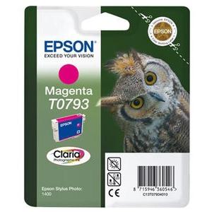 cartouche d'origine Epson TO792 à 796 couleur au choix