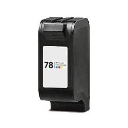 Cartouche compatible remplie pour HP Nr. 78, 3 couleurs