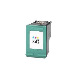 Cartouche compatible remplie pour HP 342, 3 couleurs