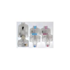 HP363: 6 cartouches compatibles rechargeables vides avec puces autoreset
