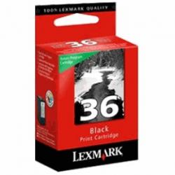 Nr.36 noir. Cartouche d'encre pour lexmark Nr.36