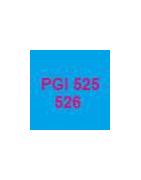 Cartouches vides et puces autoreset pour cartouches PGI525 et 526